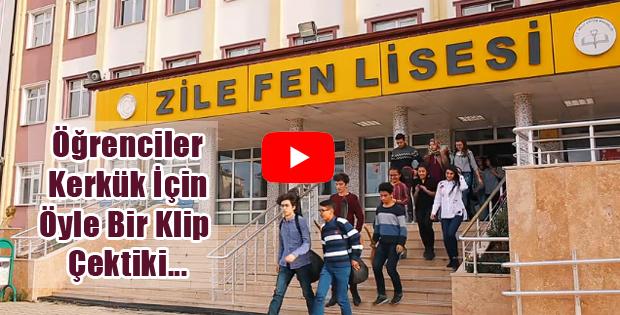 Lise Öğrencileri Kerkük İçin Klip Çekti