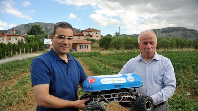 Tokat'ta Gaziosmanpaşa Üniversitesi Tarım Robotu Yaptı