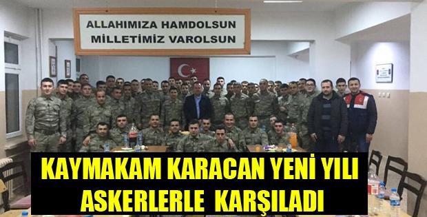 ASKERLERLE YENİ YILI KARŞILADI-11062
