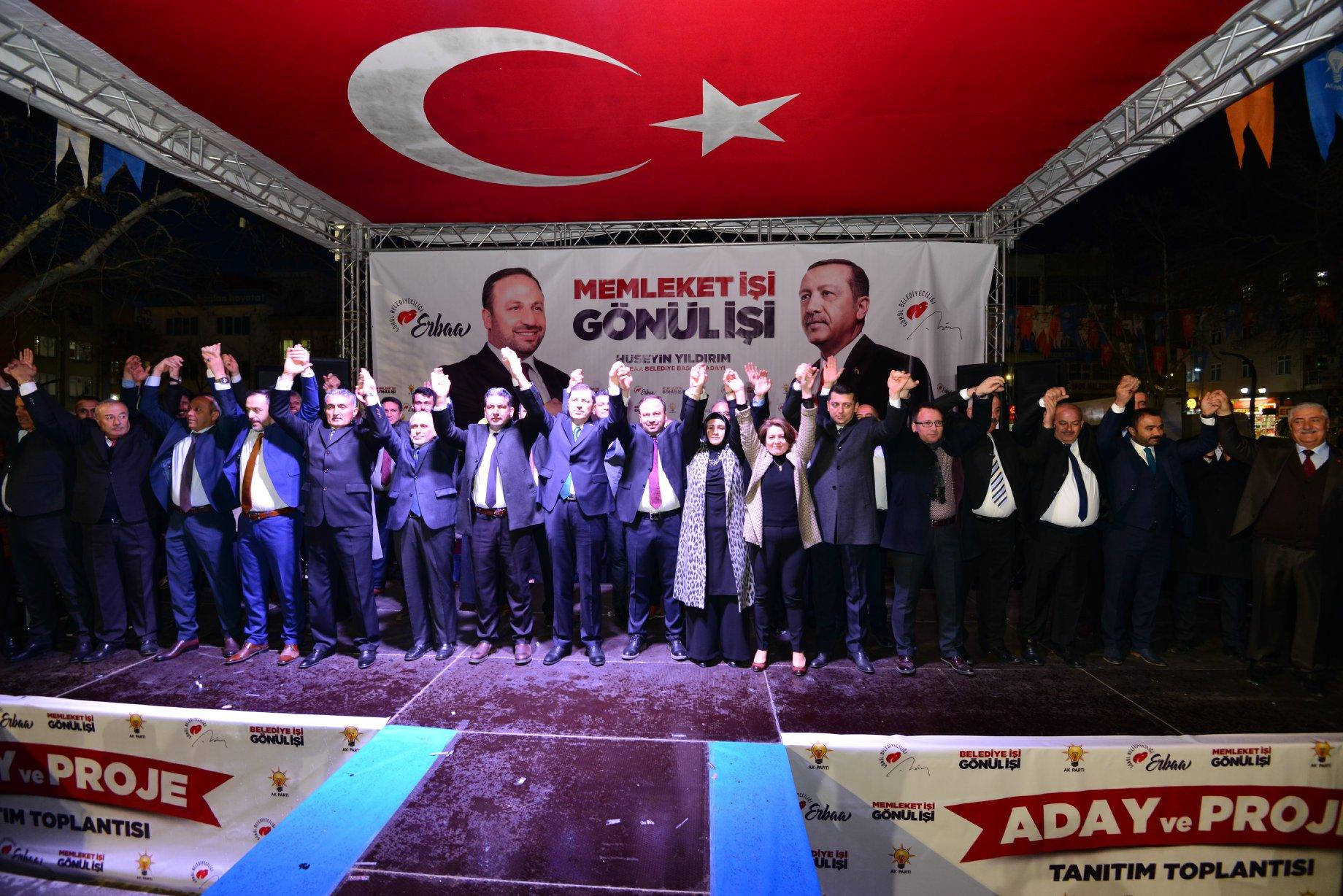Ak Parti Erbaa'da Aday ve Proje Tanıtım Toplantısını Gerçekleştirdi