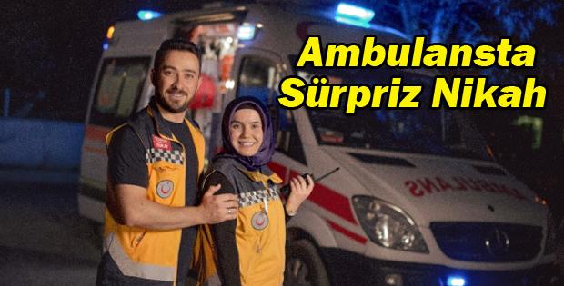 Ambulansta Sürpriz Nikah