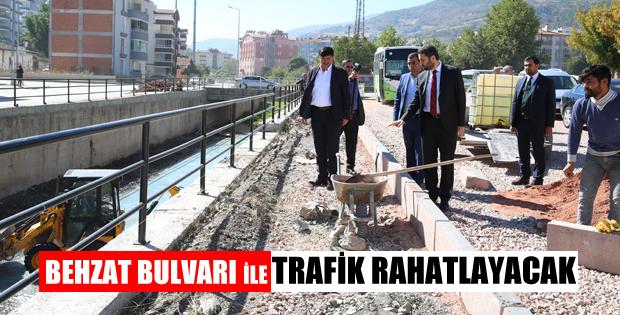 BEHZAT BULVARI İLE TRAFİK RAHATLAYACAK-10657