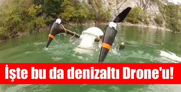 CRACUNS: İlk denizaltı drone'u!