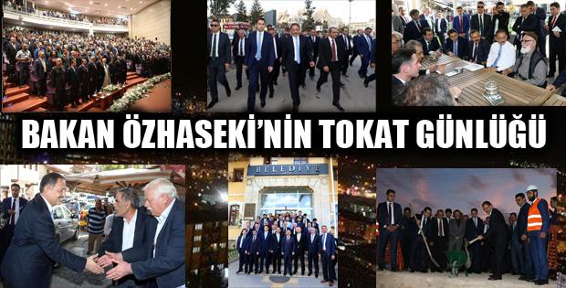 Çevre ve Şehircilik Bakanı Özhaseki'nin Yoğun Tokat Programı-8730
