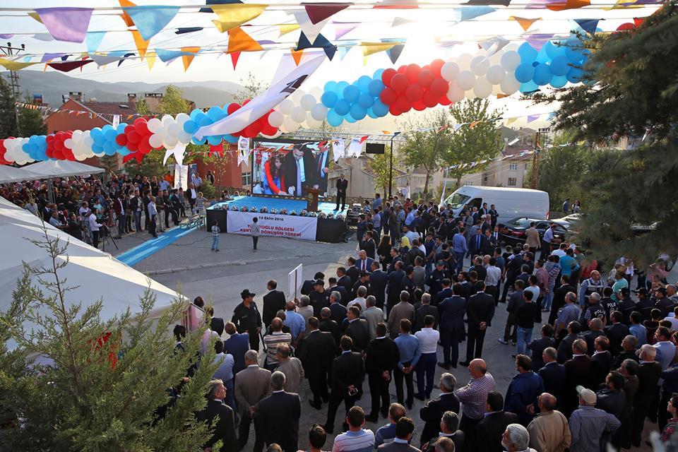 Çevre ve Şehircilik Bakanı Özhaseki'nin Yoğun Tokat Programı-8731
