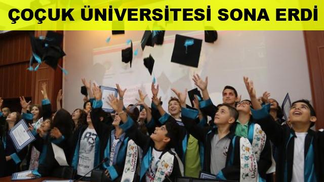 Çocuk Üniversitesi Sona Erdi