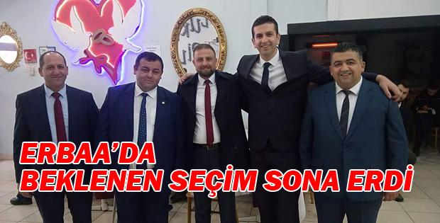 ERBAA ESNAF ve SANATKARLAR ODASI BAŞKANLIK SEÇİMİ SONA ERDİ