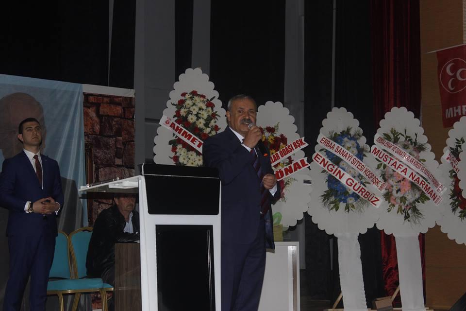 ERBAA MHP KONGRESİNİ GERÇEKLEŞTİRDİ-10012