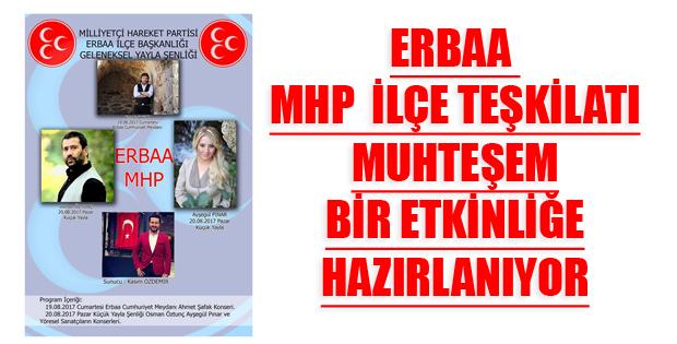 ERBAA'DA KONSER VE GELENEKSEL YAYLA ŞENLİĞİ  -10427