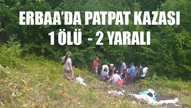 ERBAA'DA PATPAT KAZASI CAN ALDI