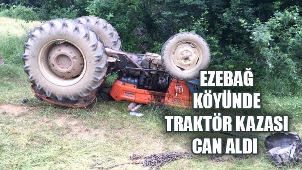 ERBAA'DA TRAKTÖR KAZASI