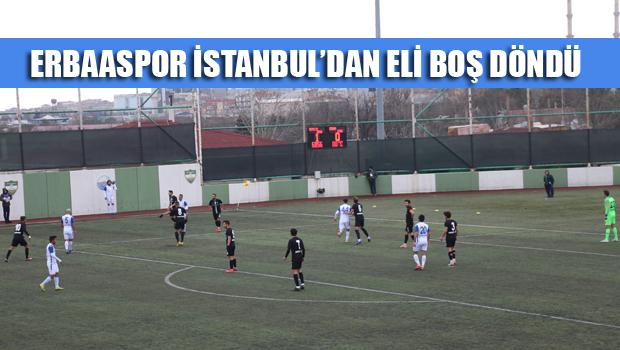 ERBAASPOR 0 - 1 TEPECİKSPOR