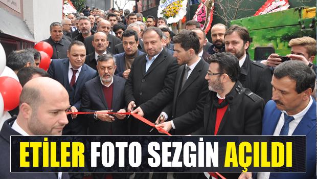 ETİLER FOTO SEZGİN TÖRENLE AÇILDI