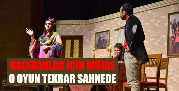 Erbaa Belediyesi Şehir Tiyatrosu İkinci Kez Sahnede
