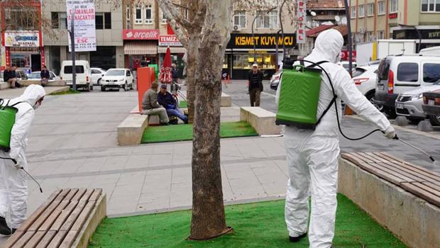 Erbaa Belediyesi'nden korona virüsü önlemleri