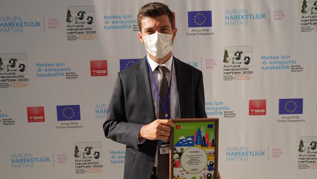 Erbaa Belediyesine Çevre Dostu Kent Ödülü