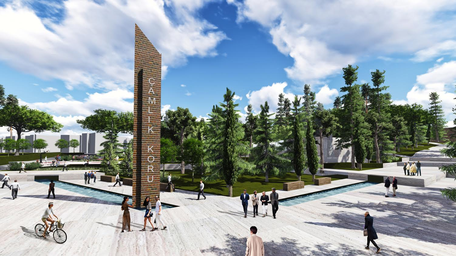 Erbaa Koru Park (Çamlık Projesi) İçin İhale Süreci Başladı
