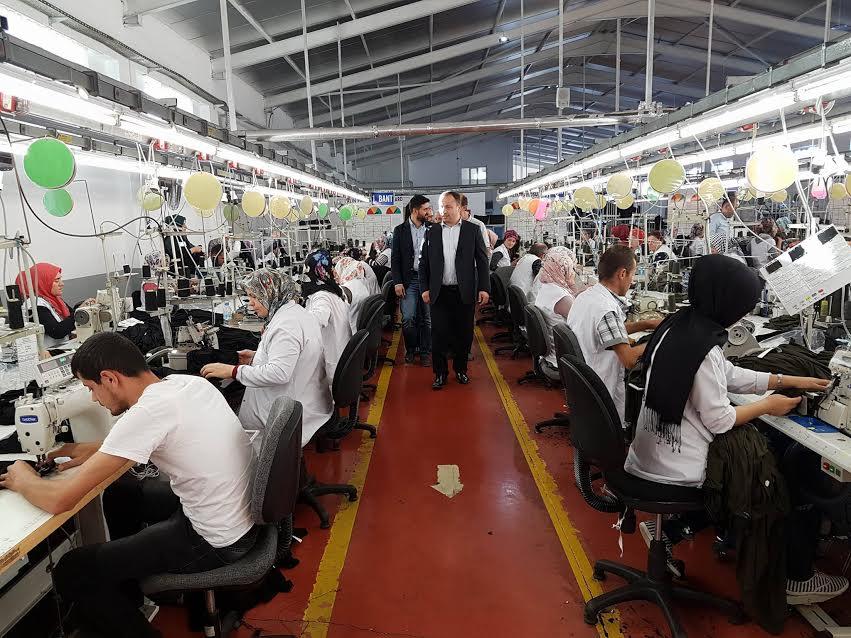 Erbaa Organize Sanayi Bölgesine Yeni Fabrikalar Geliyor