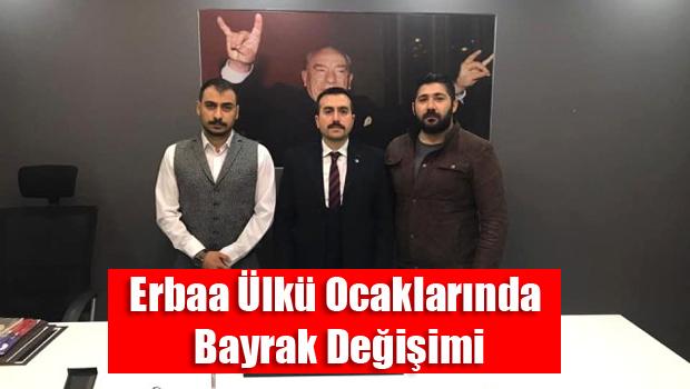 Erbaa Ülkü Ocakları Yeni Başkanı Zafer GÜREL