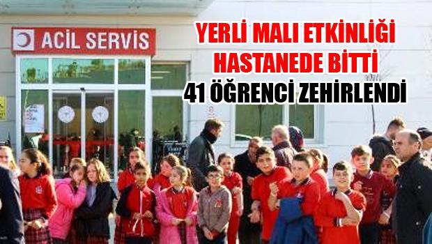 Erbaa'da 41 Öğrenci Hastanelik Oldu