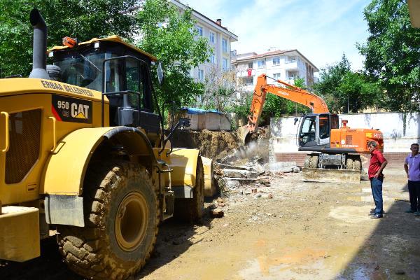 Erbaa'da Afet Sonrası Hasar Tespiti