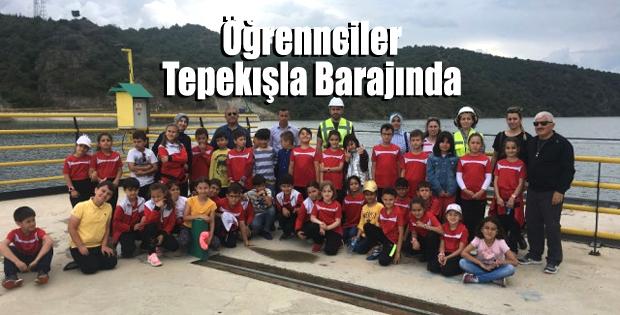 Erbaa'da İlkokul Öğrencileri Tepekışla Barajında Ağırlandı