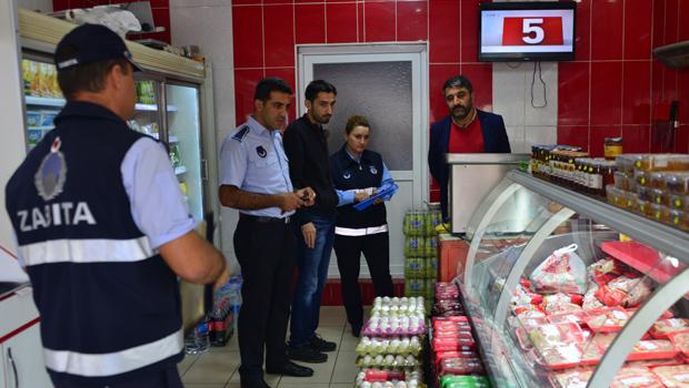Erbaa'da Kasaplar Denetlendi