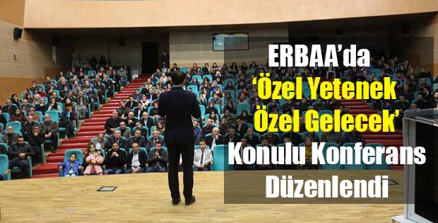 Erbaa'da Konferans