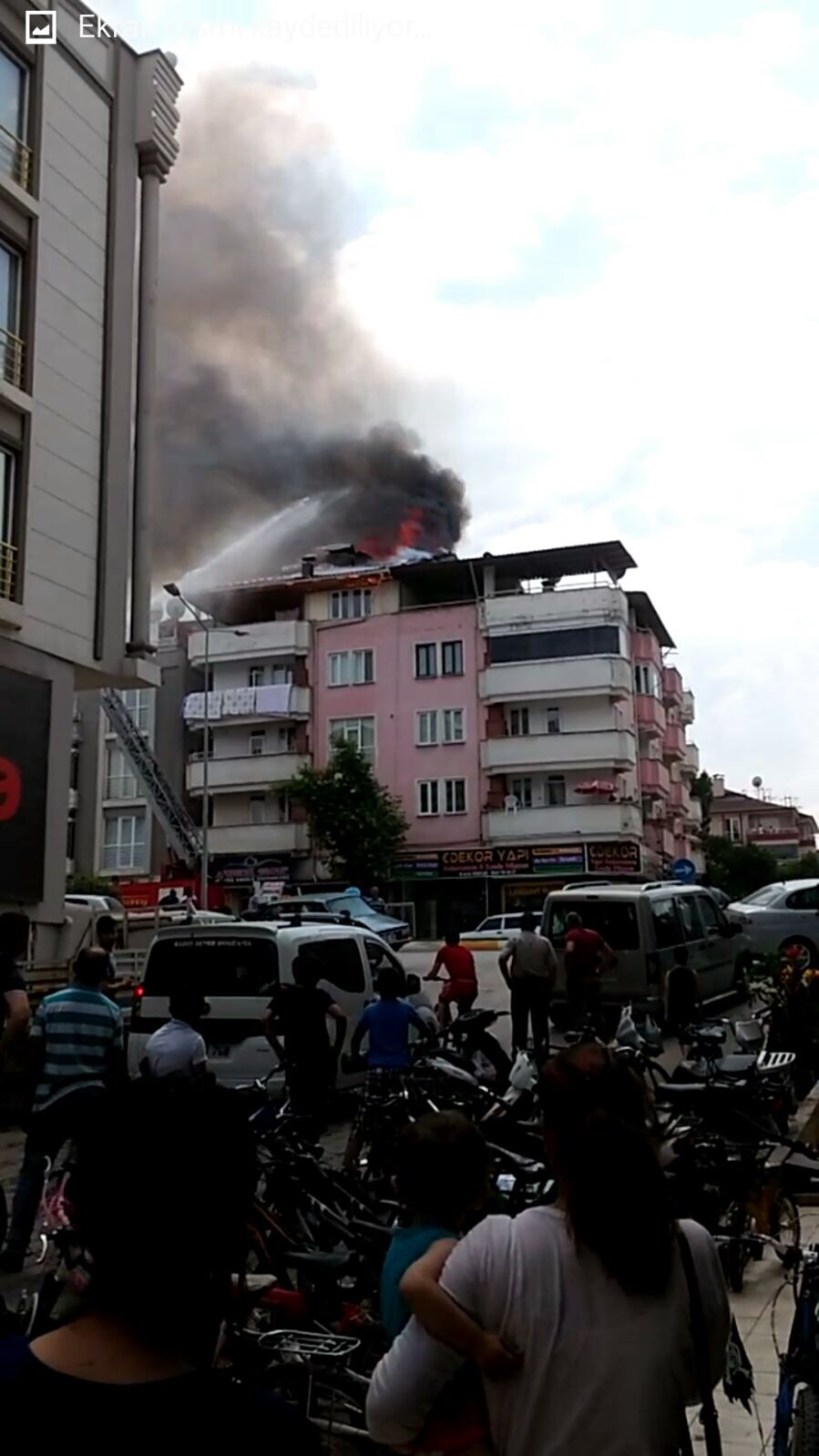 Erbaa'da Korkutan Yangın-10317