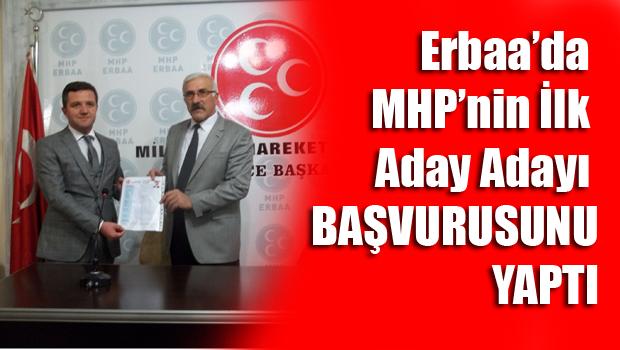 Mhp Erbaa Belediye Başkan İlk Aday Adayı Emin Akbulut Oldu
