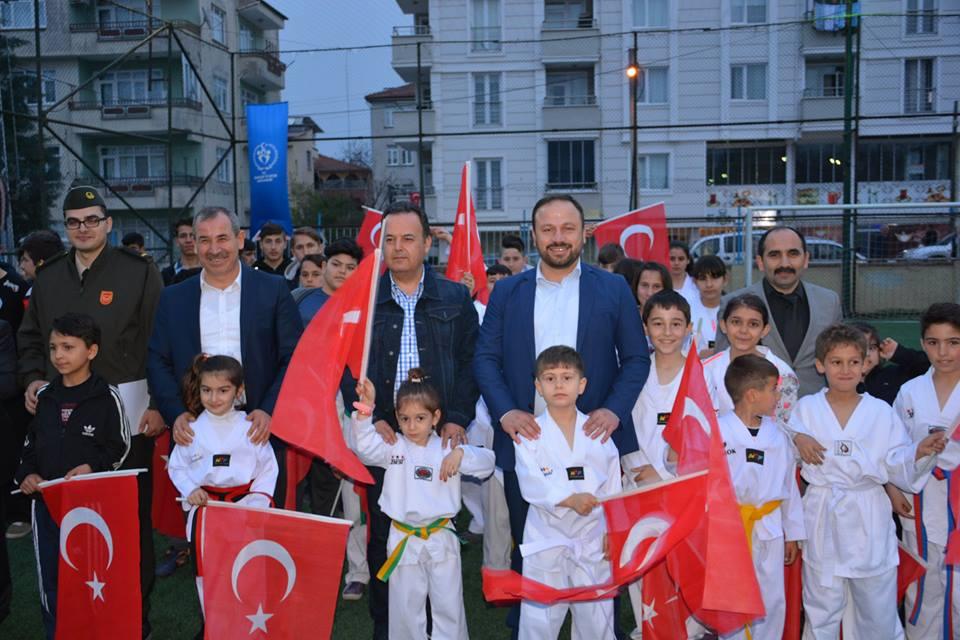 Erbaa'da Mehmetçik Halı Saha Turnuvası