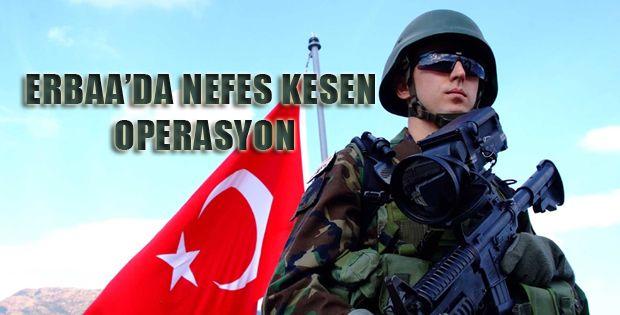 Erbaa'da Nefes Kesen Operasyon