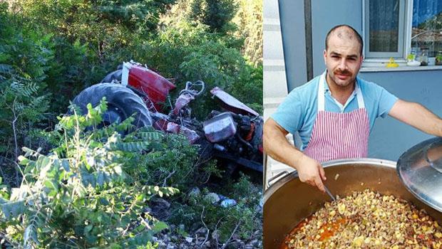 Erbaa'da Traktör Kazası Can Aldı