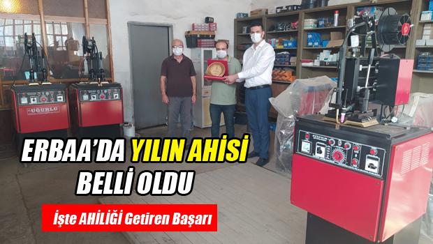 Erbaa'da YILIN AHİSİ Belli Oldu