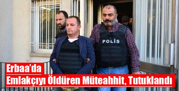 Erbaa'daki Cinayet Zanlısı Tutuklandı