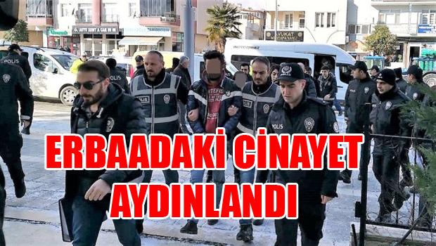 Erbaa'daki Cinayette 1 tutuklama