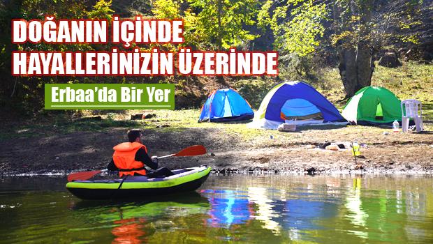 Erbaalı doğaseverler Düden gölünde buluştu