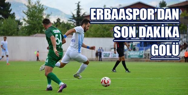 Erbaaspor-12 Bingölspor: 1-0