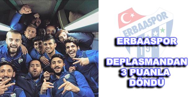 Erbaaspor 3 Puanla Döndü-5786