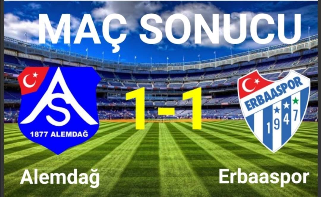 Erbaaspor İstanbul Deplasmanından 1 puanla döndü