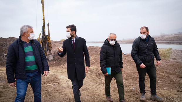 Erbaa'ya 6 yeni köprü yapımı için çalışmalar başladı.