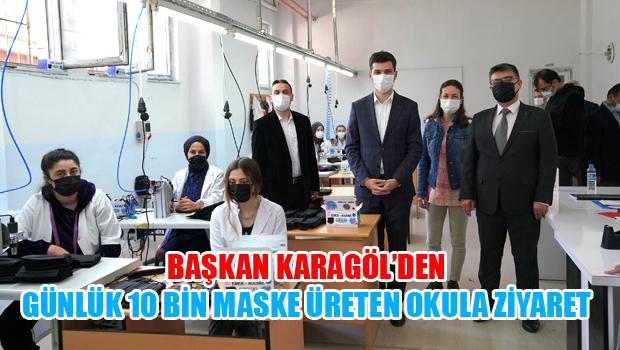 Erek Mesleki ve Teknik Anadolu Lisesi Maske Üretimiyle Dikkat Çekiyor