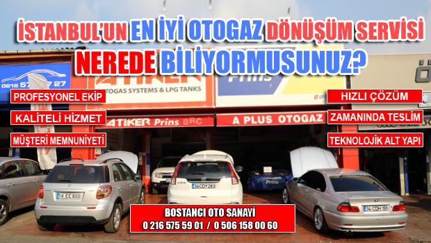 İSTANBUL'DAKİ EN İYİ OTOGAZ DÖNÜŞÜM SERVİSİ A PLUS OTOGAZ BOSTANCI'DA HİZMETİNİZDE