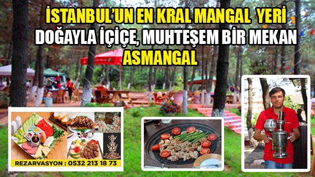 İSTANBUL'UN EN KRAL MANGAL YERİ ASMANGAL
