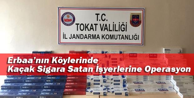 Kaçak Sigara Satan İşyerlerine Operasyon