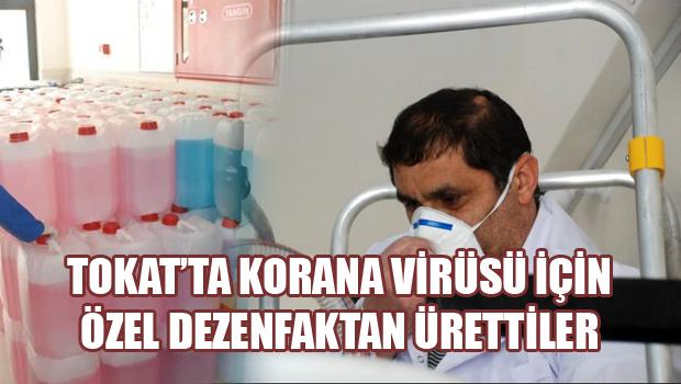 Korona virüsüne karşı okulda dezenfektan üretimi
