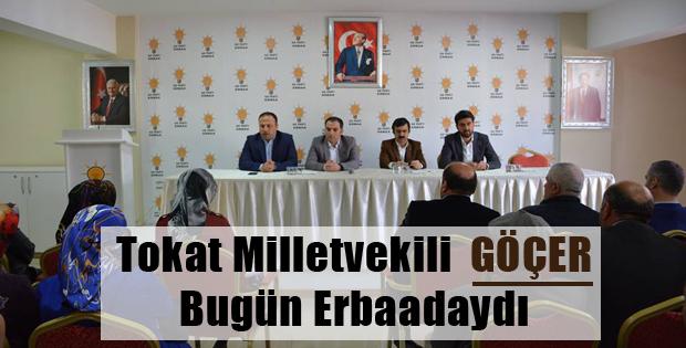 Milletvekili Göçer'in Erbaa Temasları-9804