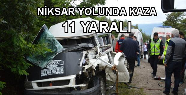 Nişana Giderken Kaza Yaptılar: 11 Yaralı