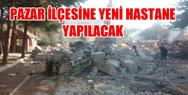 PAZAR İLÇESİNE YENİ HASTANE YAPILACAK-10810