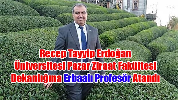 Pazar Ziraat Fakültesinde Prf. Dr Mustafa Akbulut Dönemi